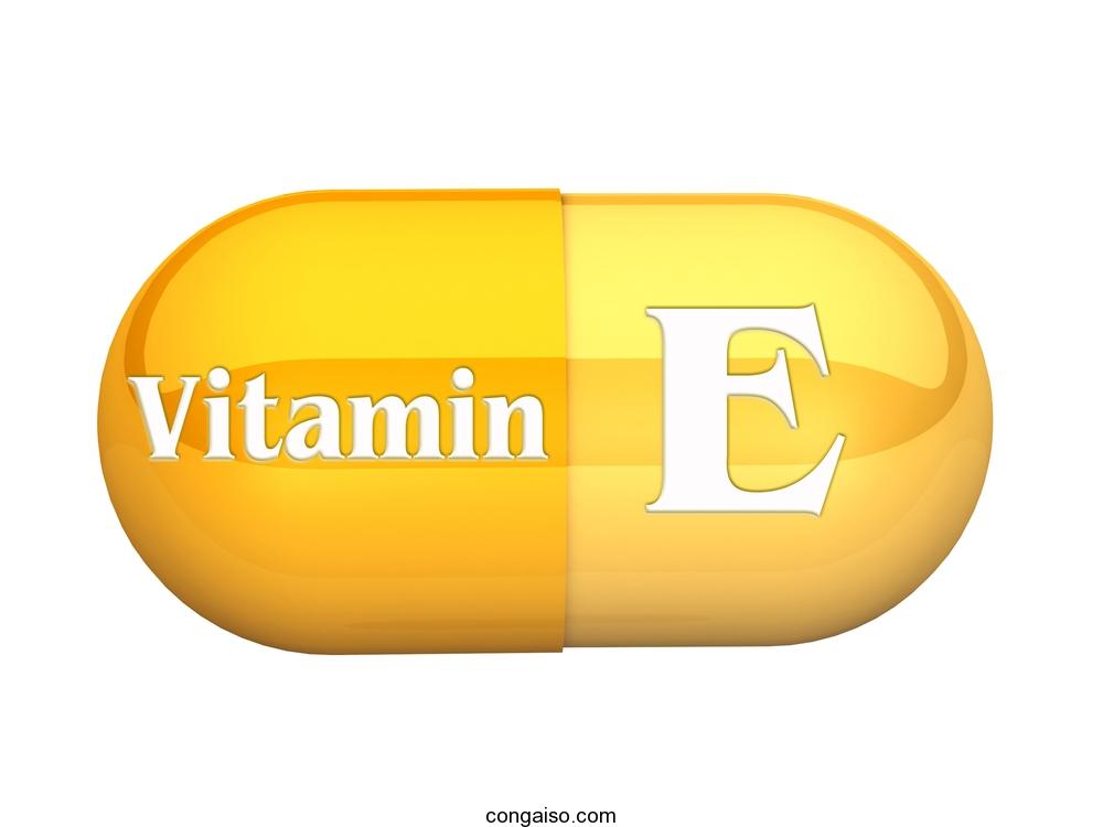 lam dep bang vitamin e