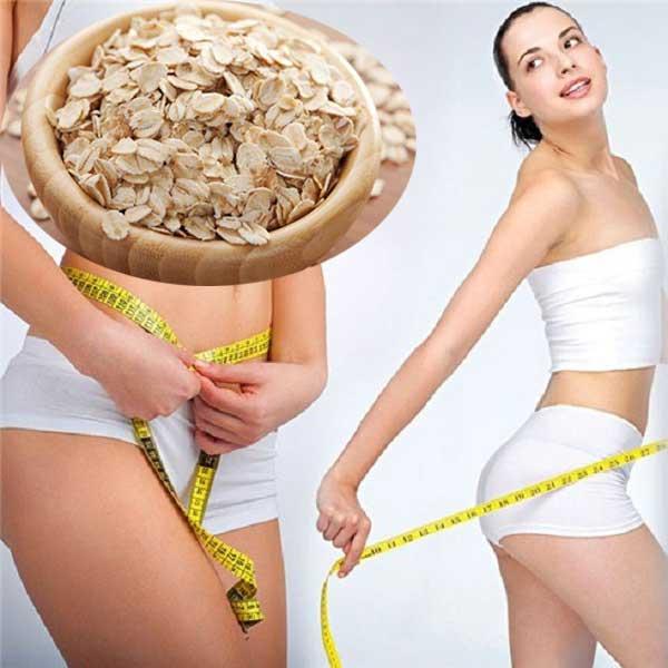Giảm cân an toàn và hiệu quả bằng bột yến mạch