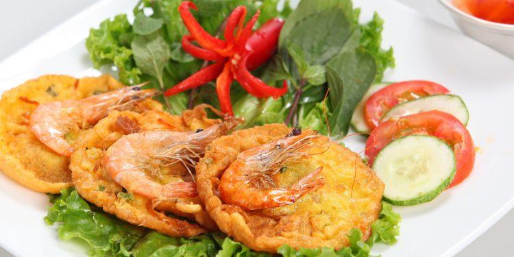 Bánh tôm Hồ Tây (Ảnh sưu tầm)
