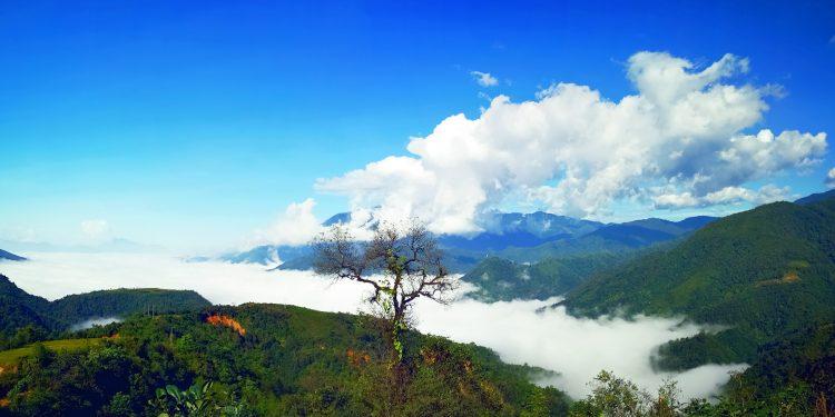 Biển mây tại Sìn Hồ - Lai Châu (Ảnh sưu tầm)