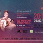 Hiện tượng âm nhạc 9x Greyson Chance sẽ biểu diễn tại Việt Nam trong tháng 7 này