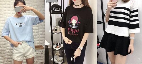 mẫu áo thun nữ đẹp 2019 2