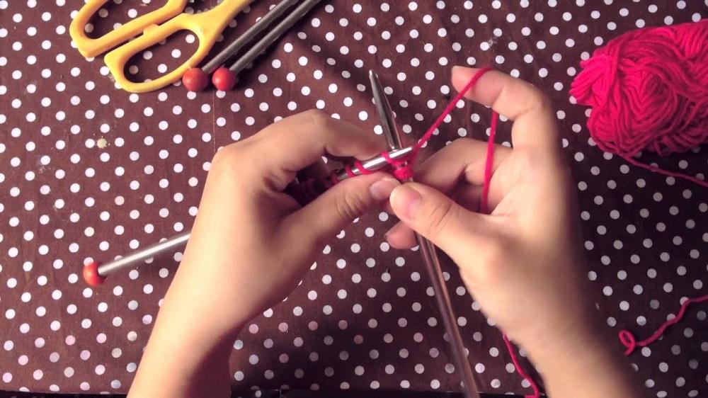 cách đan khăn quàng cổ