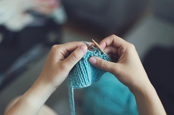 Cách móc khăn quàng cổ bằng len 2