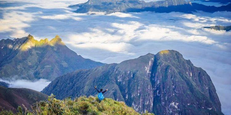 Thiên nhiên ưu ái cho Núi Muối những biển mây đẹp đến nao lòng (Ảnh sưu tầm)