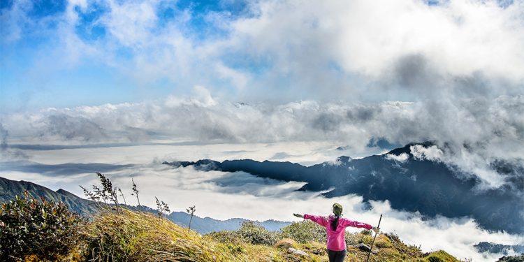 Đỉnh Lùng Cúng là một trong những địa danh đẹp nhất ở Tây Bắc (Ảnh sưu tầm)