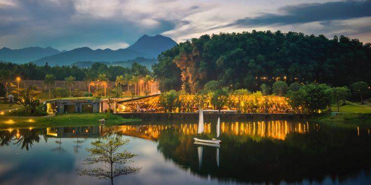 Hồ Đại Lải đẹp mê hồn trong những bức ảnh (Ảnh sưu tầm)