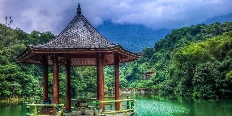 Phong cảnh sơn thủy hữu tình tại Thiên Sơn suối Ngà (Ảnh sưu tầm)