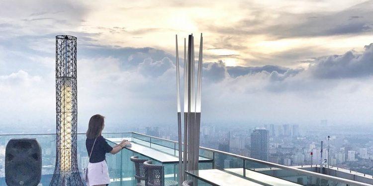 Những bức ảnh cực chất được chụp từ Top of Hà Nội (Ảnh sưu tầm)