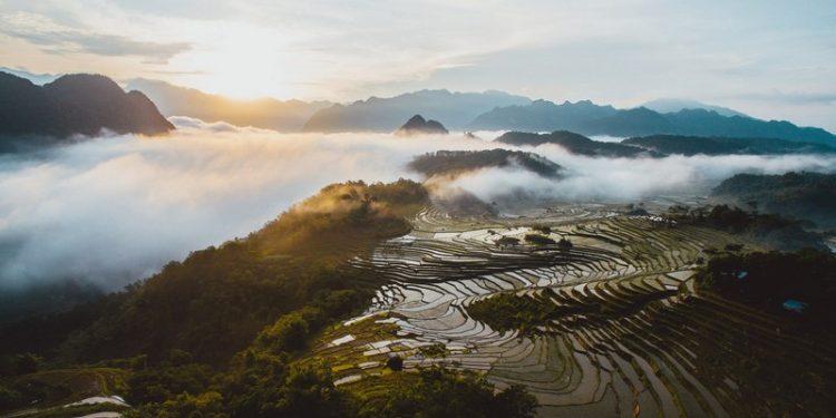 Cảnh sắc núi rừng Pú Luông (Ảnh sưu tầm)
