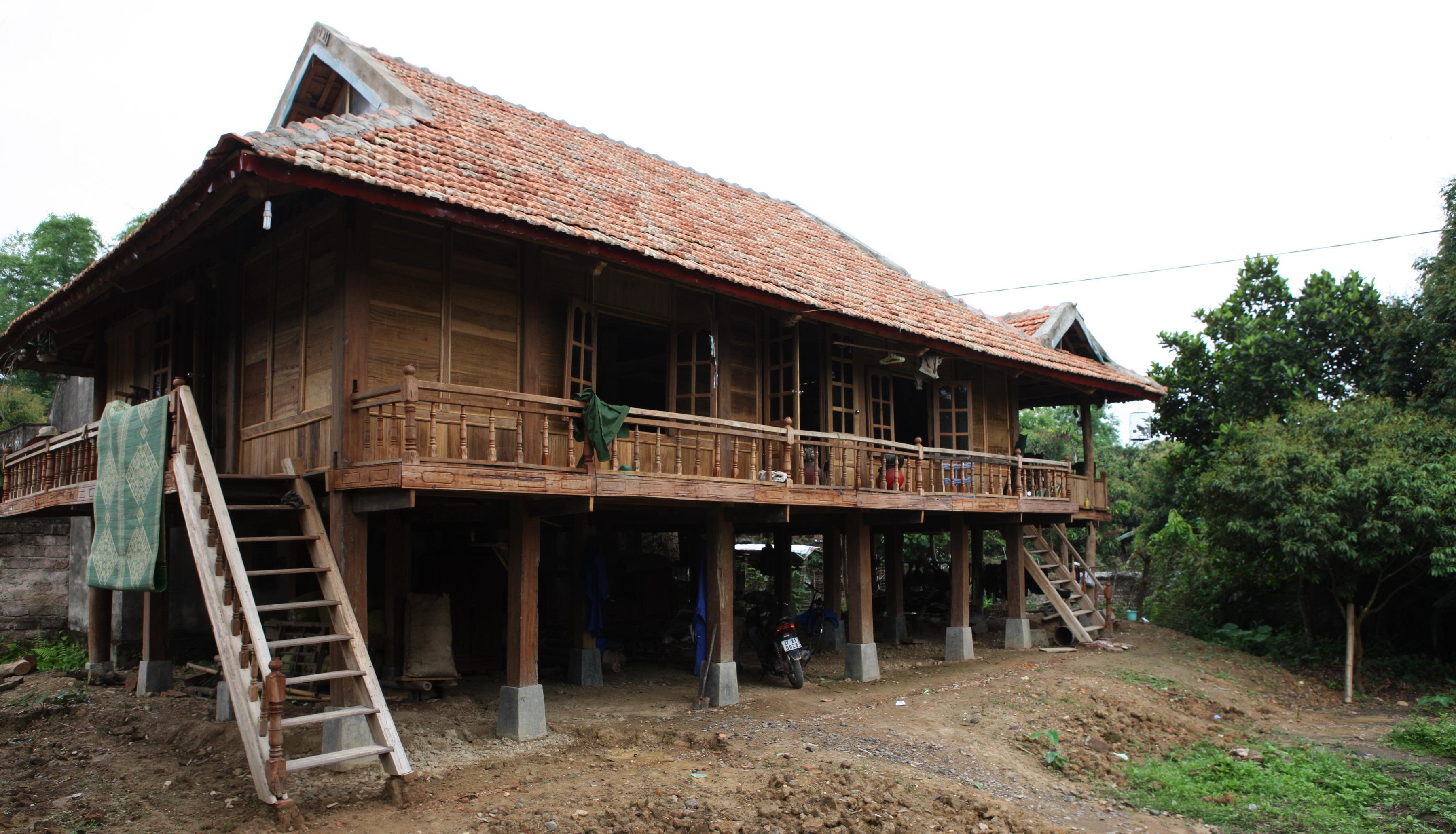 kiến trúc dân tộc vùng núi phía bắc