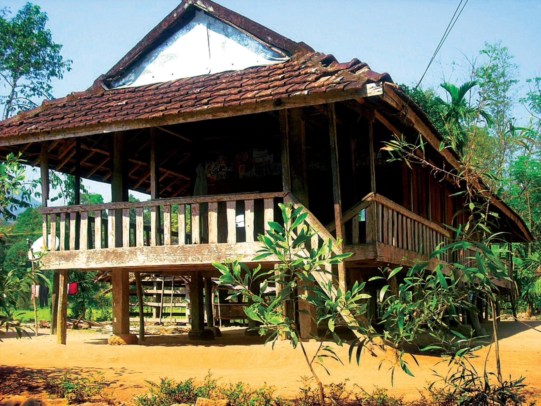 Kiến trúc dân tộc vùng núi phía Bắc 14