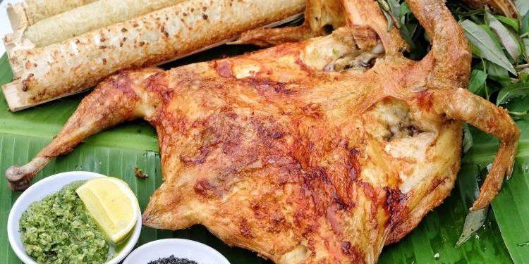 Xôi, cơm lam, gà nướng, thịt nướng cho buổi Party tối (Ảnh sưu tầm)