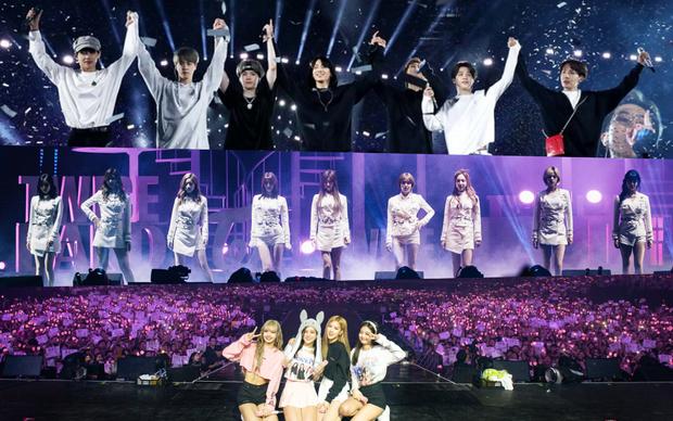 Doanh thu khủng từ các concert mới nhất của idol Kpop