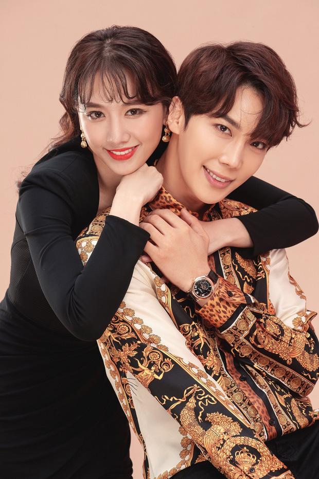 Hari Won ôm ấp trai đẹp Park Jung Min đình đám một thời của SS501 ở cự ly cực gần