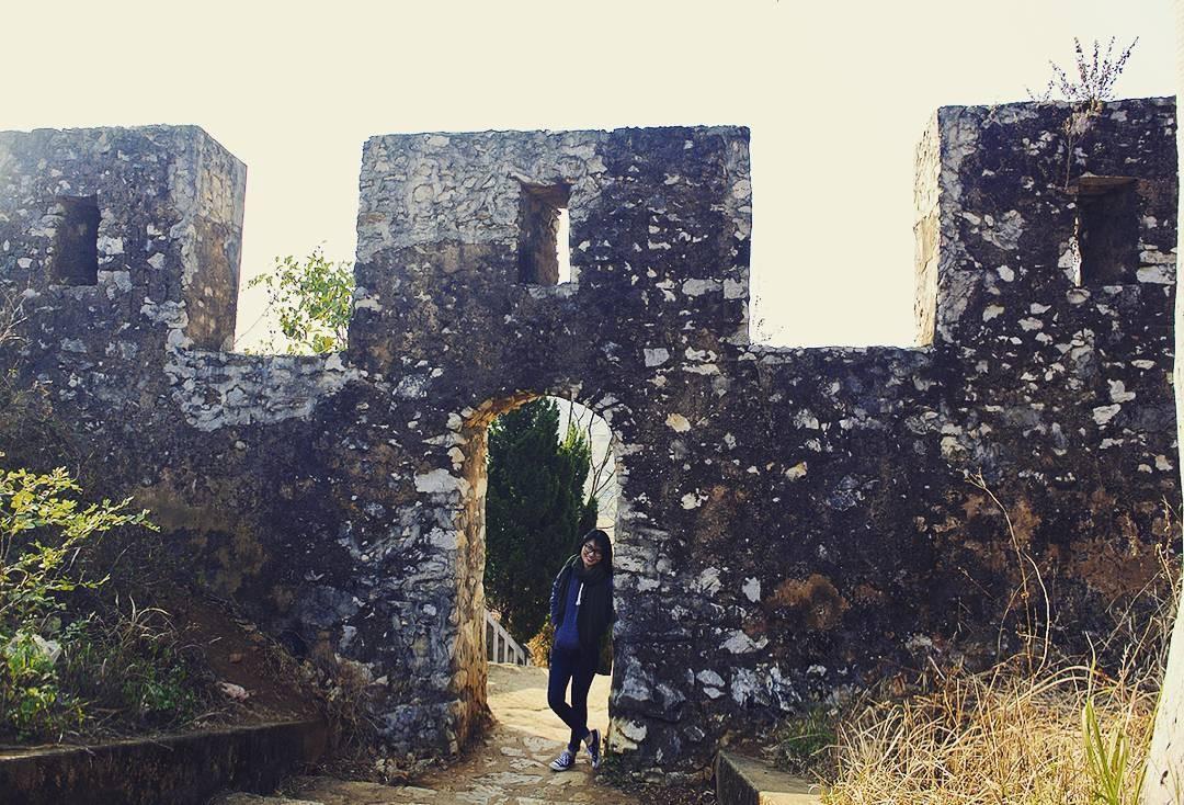 Di tích còn lại của thành nhà Mạc (Ảnh sưu tầm)
