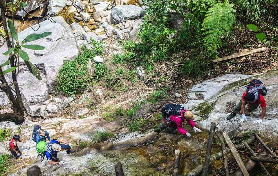 Nam Kang Ho Tao - thử thách khó vượt qua nhất của Tây Bắc (Ảnh sưu tầm)
