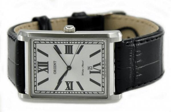 Đồng hồ nam hình chữ nhật 1