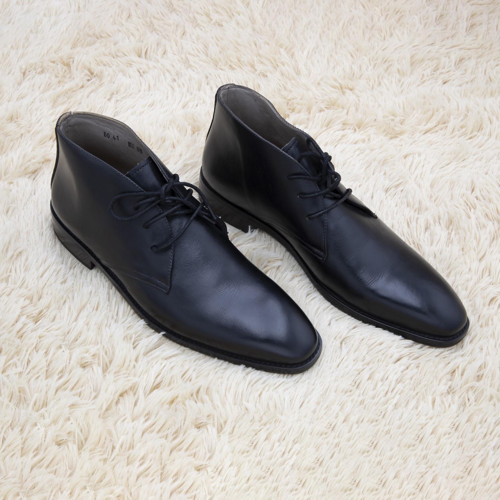 giày đen nam