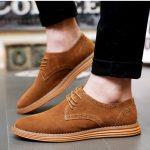 Giày da lộn điểm nhấn xu hướng hướng thời trang thế giới