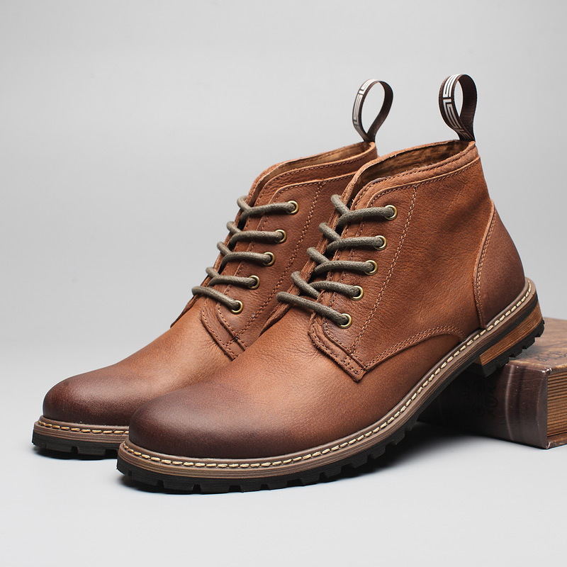 giày nam da bò 1