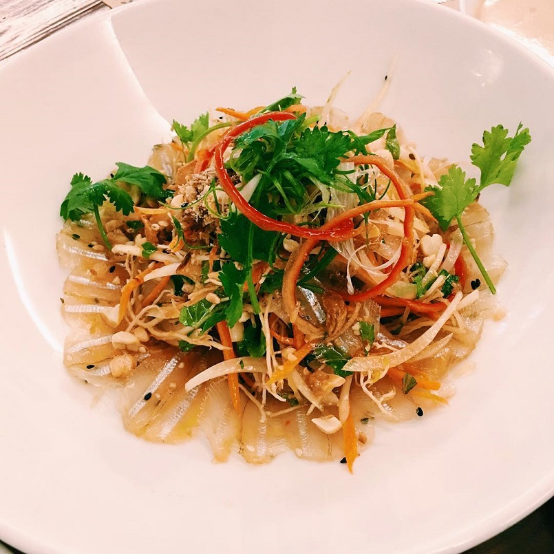 Đĩa gỏi cá Mai chuẩn vị Nha Trang - Celeb News