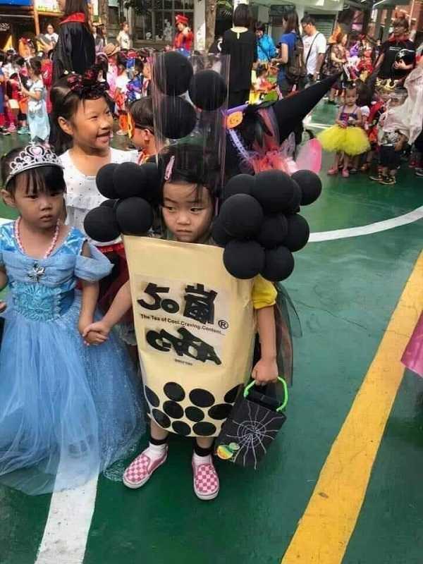 hóa trang halloween 5