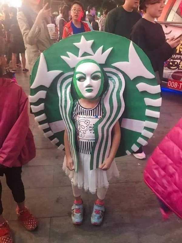 hóa trang halloween 9