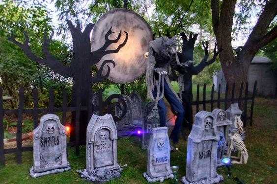 trang trí halloween 4