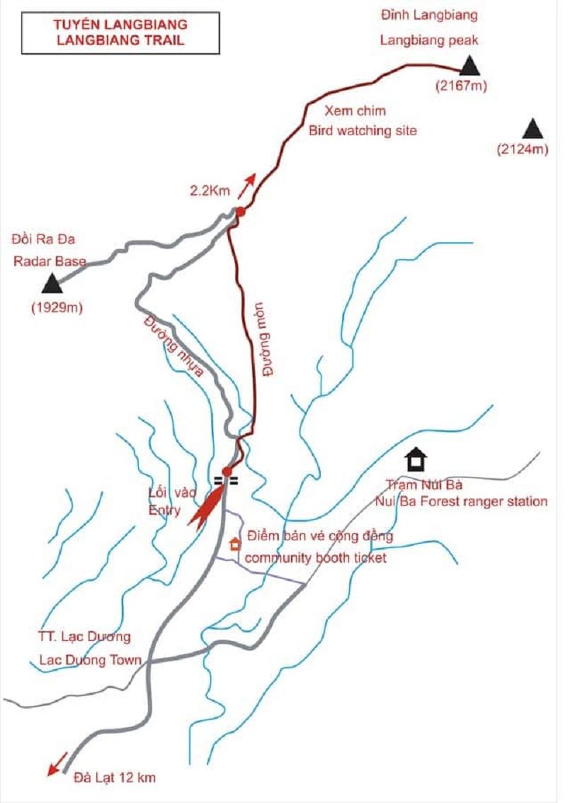 Trekking Langbiang - Thử sức chuyến leo núi săn mây cực đã cùng Celeb 3