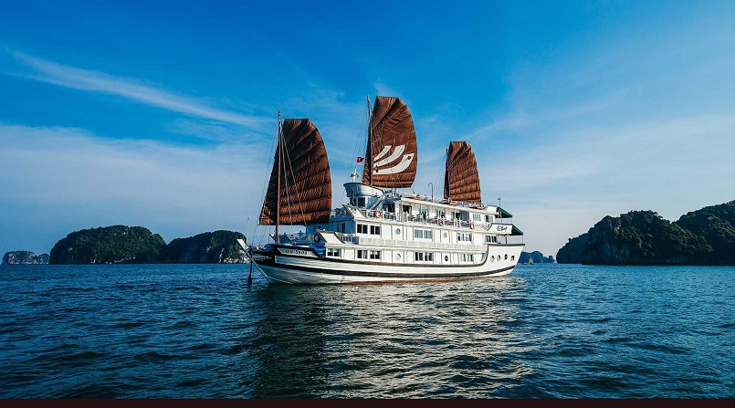 Kinh nghiệm du lịch bằng du thuyền và Top những du thuyền đẹp nhất tại Hạ Long 28