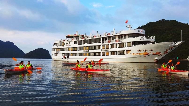 Kinh nghiệm du lịch bằng du thuyền và Top những du thuyền đẹp nhất tại Hạ Long 7
