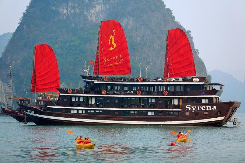 Kinh nghiệm du lịch bằng du thuyền và Top những du thuyền đẹp nhất tại Hạ Long 38