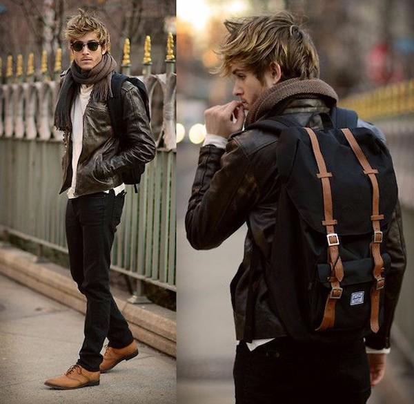 Đi tìm đồng bọn cho quần Jean và áo khoác da nam 4