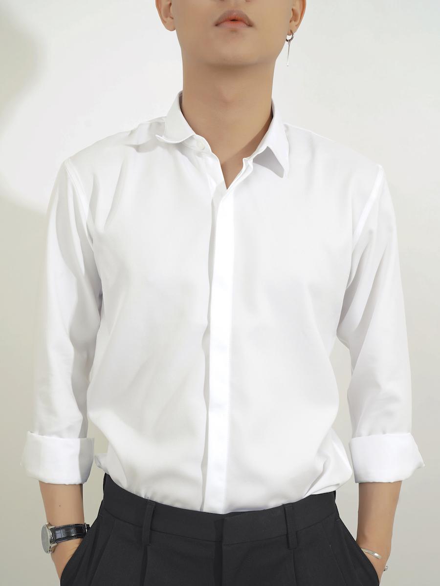 Mặc áo sơ mi nam đẹp ư? Chuyện nhỏ! 4