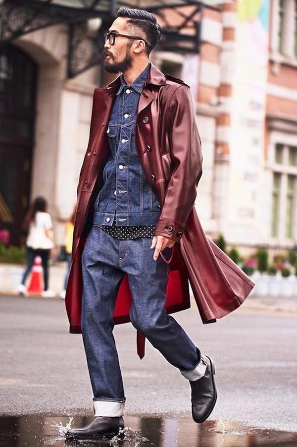 Đi tìm đồng bọn cho quần Jean và áo khoác da nam 8