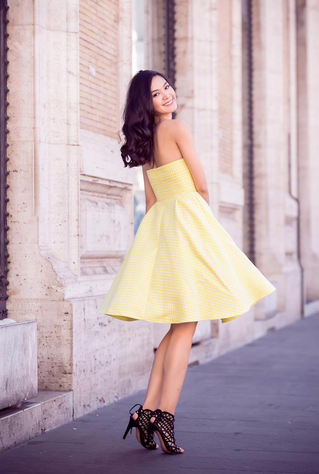 Cách chọn giày theo kiểu váy cực chuẩn 8