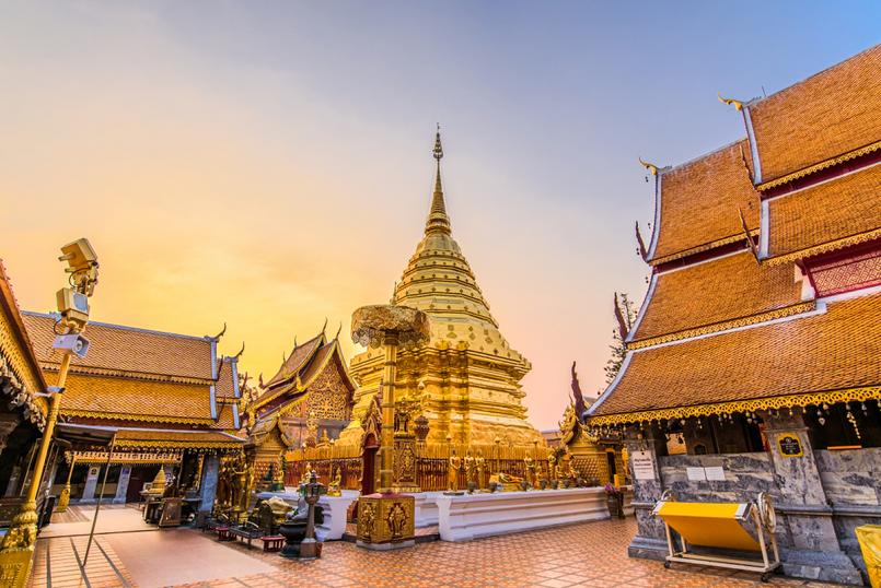 Danh sách những ngôi đền, chùa Thái Lan xứng danh đất nước chùa vàng 12