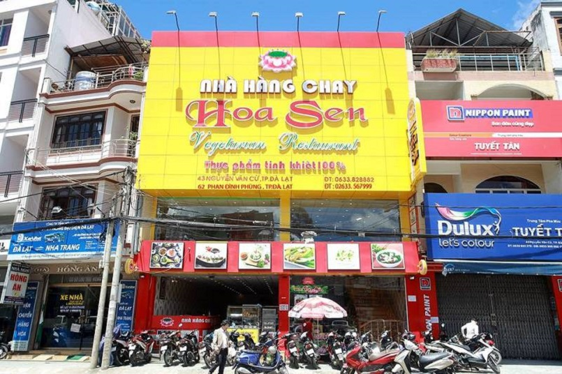 Bỏ túi ngay danh sách các quán ăn chay ở Đà Lạt nổi tiếng nhất hiện nay 3