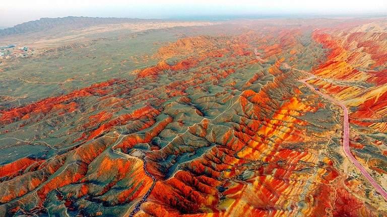 Vùng địa chất Danxia