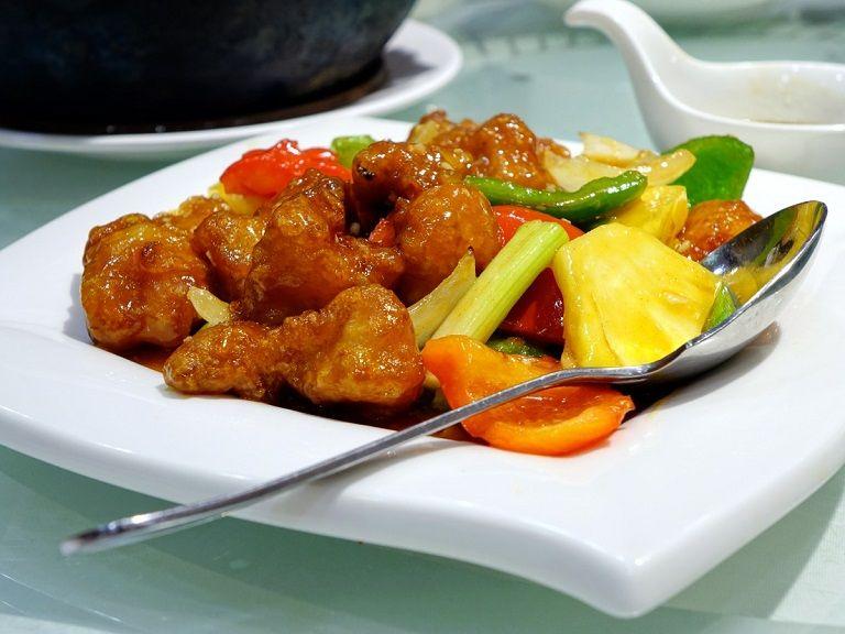 Thịt lợn chua ngọt - Món ăn Trung Quốc