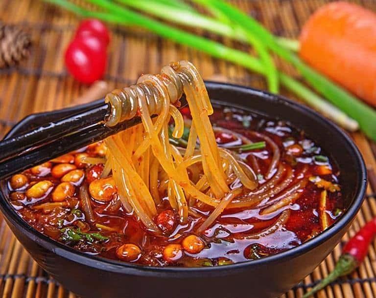 Miến chua ngọt Trùng Khánh