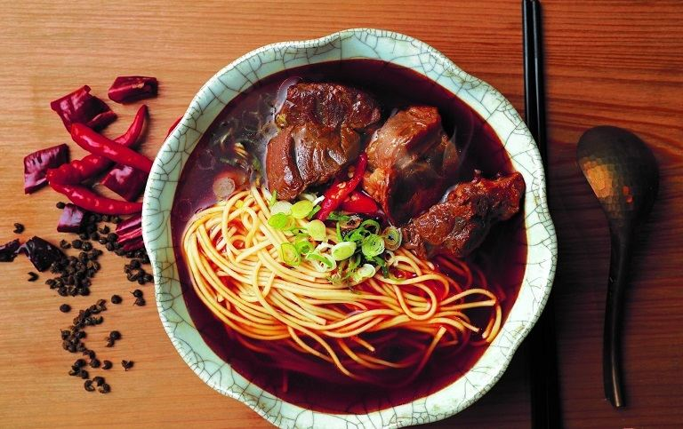 Mì bò Lan Châu
