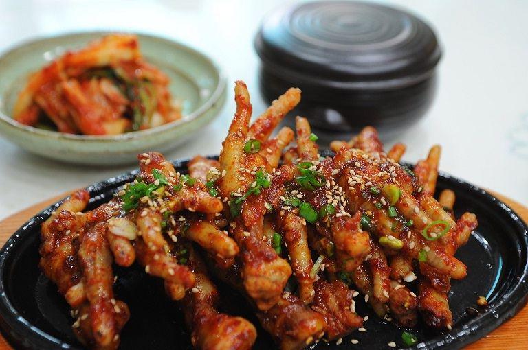 Chân gà hầm kiểu Trung Quốc