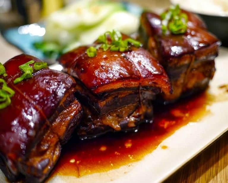 Thịt kho Đông Pha - Món ăn Trung Quốc(Ảnh sưu tầm)