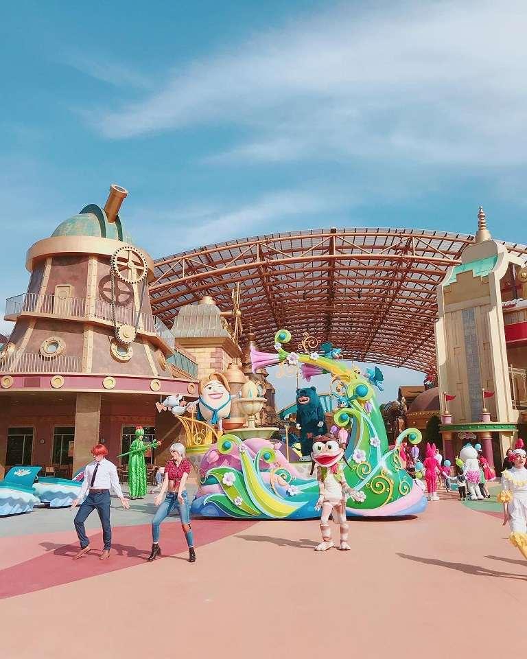 Công viên giải trí Shinhwa World - Địa điểm du lịch ở Jeju