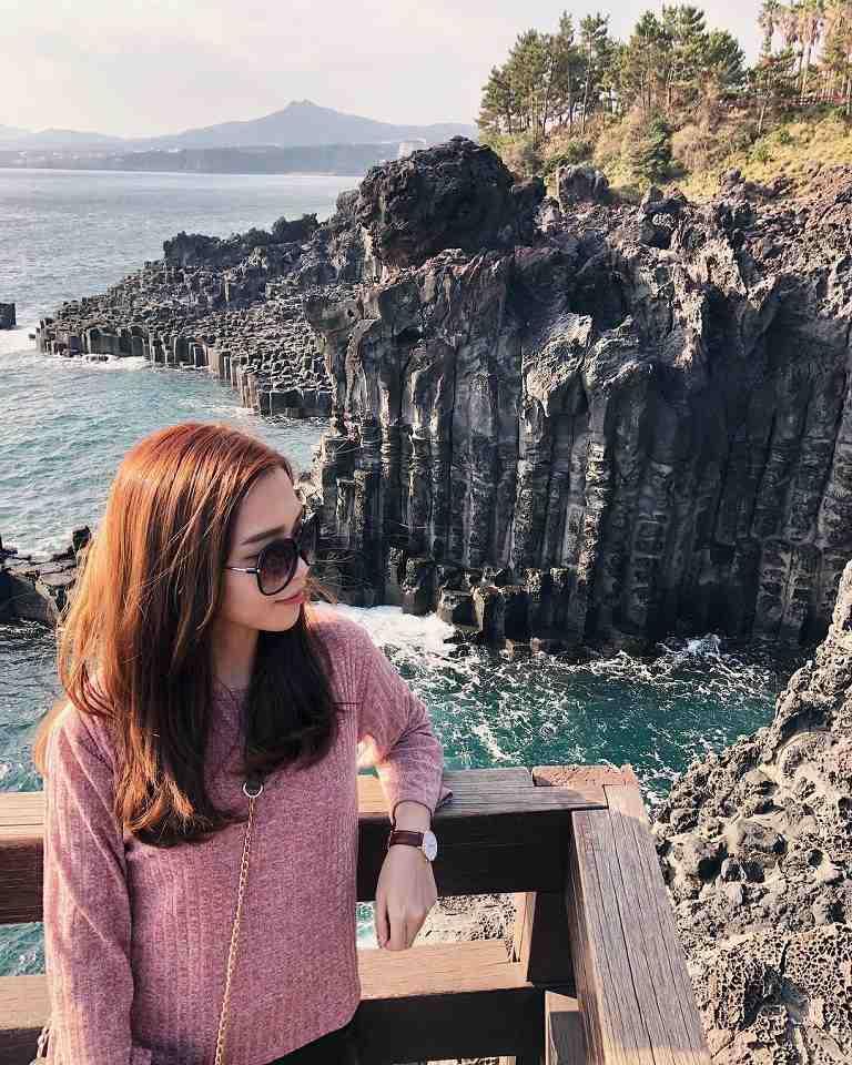 Bãi đá cột đá Jusangjeolli - Địa điểm du lịch ở Jeju