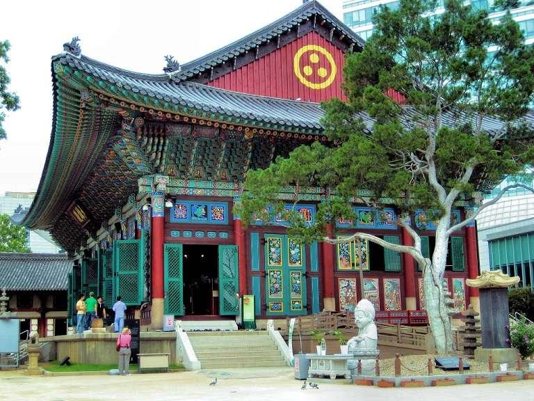 Đền Jogyesa - Địa điểm du lịch Hàn Quốc