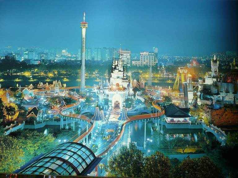 Một góc Lotte World