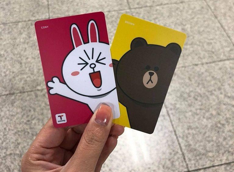 Thẻ T-money ở Hàn Quốc